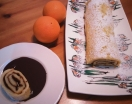 Fotográfia secundaria Brazo Gitano de Naranja con Salsa de Chocolate