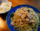 Fotográfia secundaria Espaguetis con Gambas al Ajillo