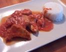 Fotográfia secundaria Atún en Salsa de Tomate y Arroz Blanco