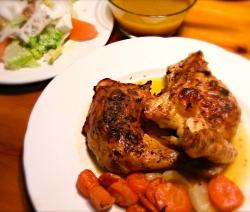 Pollo al Horno con Tomillo y Brandy