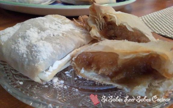 Fotográfia principal Pasteles de Compota de Manzana